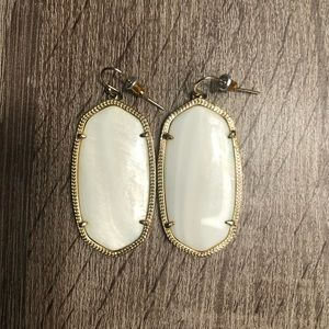 Kendra Scott Mother of Pearl Danielle Earrings